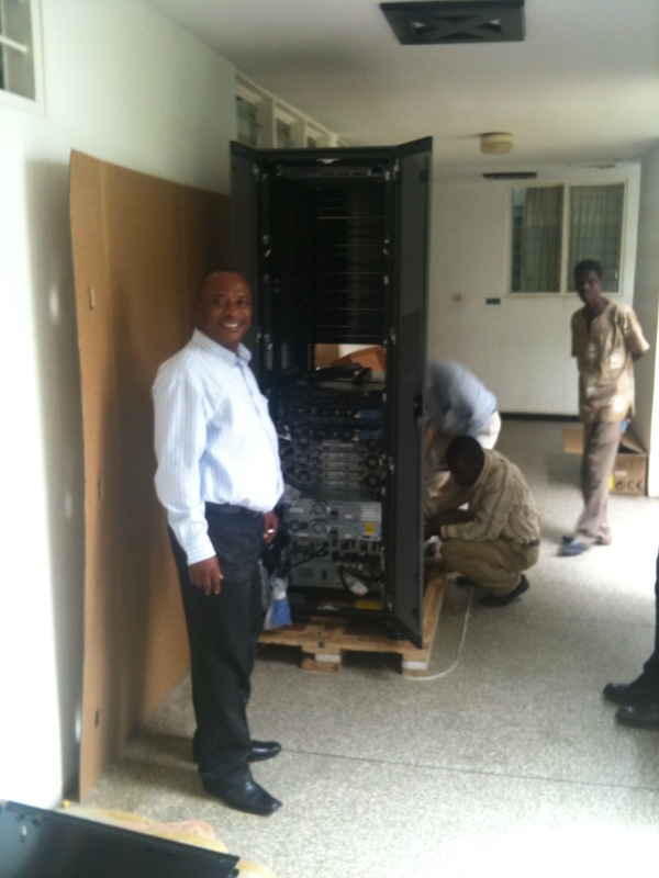 Ghana – Integration of DAP servers for geo data