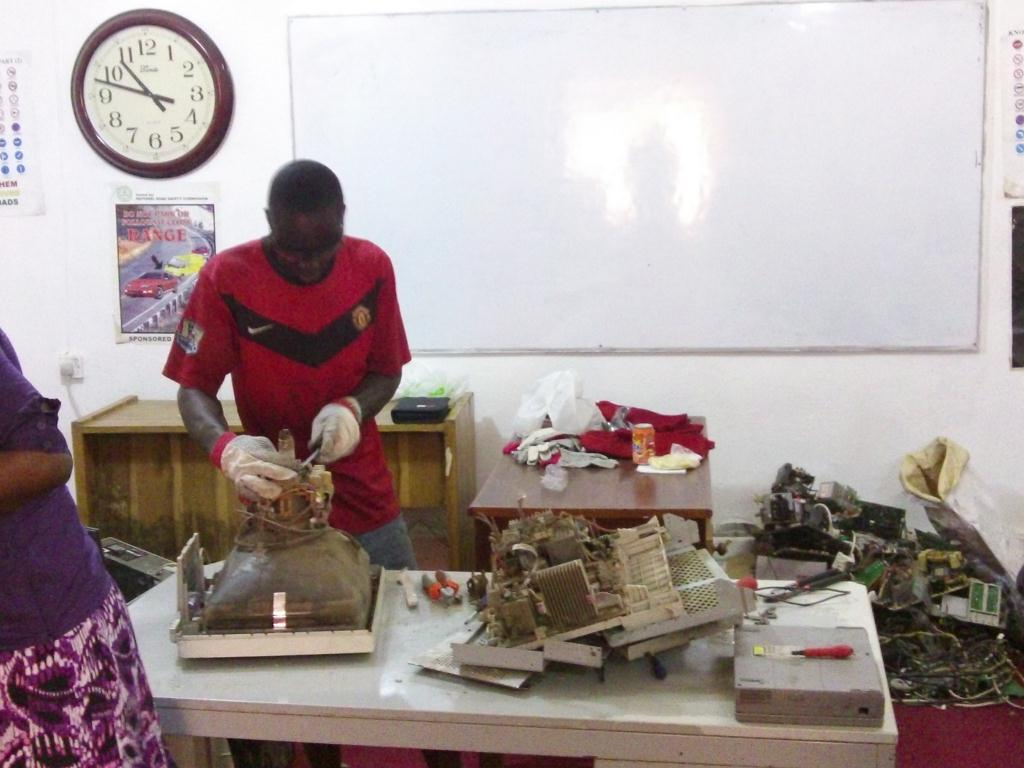 Photographs from training in Accra