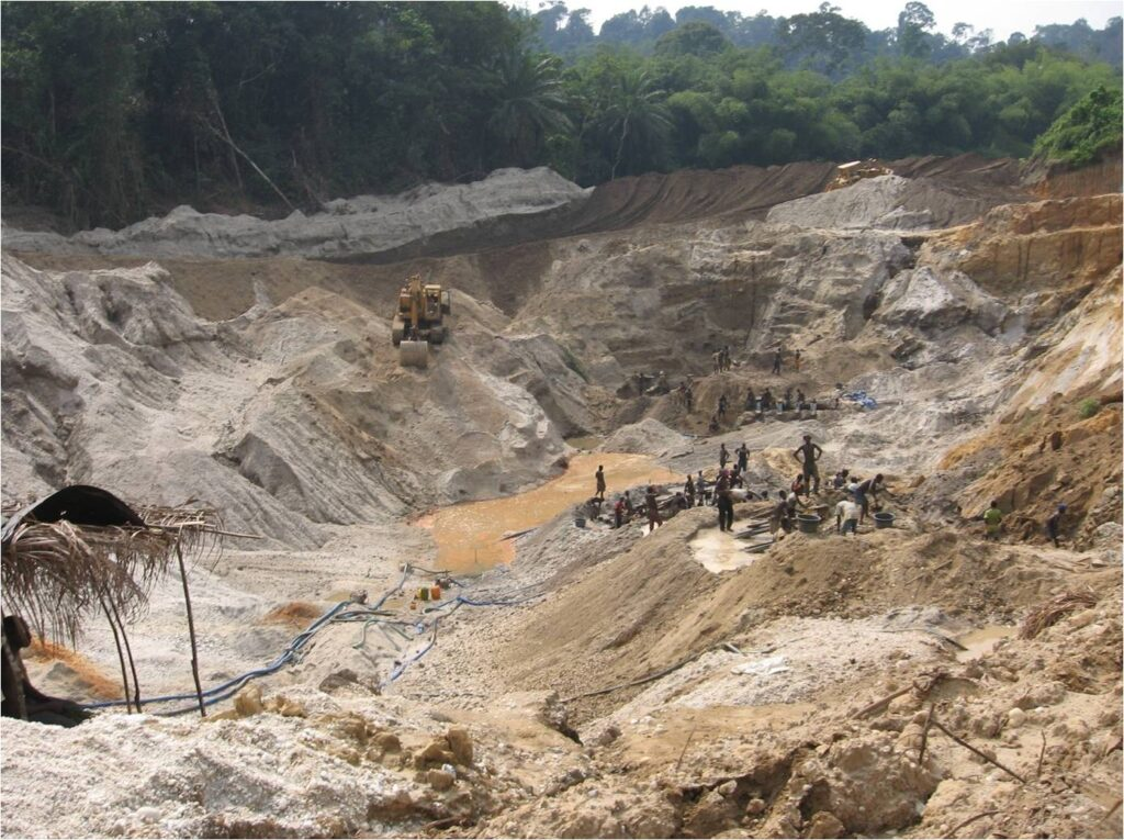 """""""Small scale"""" mining with large scale impact"""