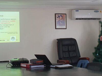 Delivering final presentation